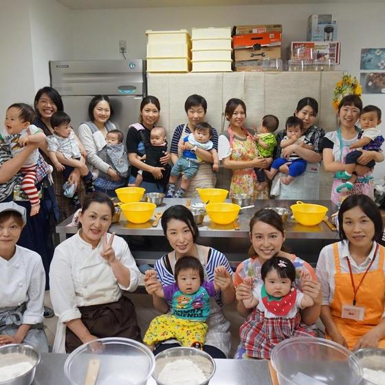 助産師、栄養士のいるmamarパン教室