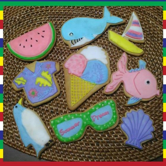 夏休みイベント アイシングクッキー教室