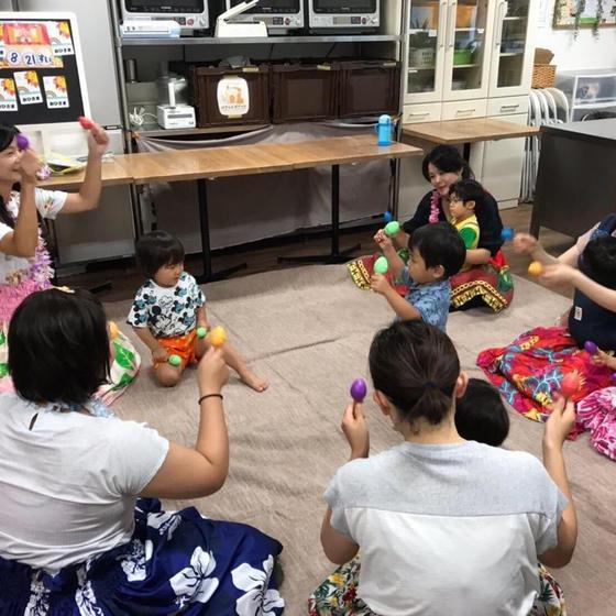 ハワイアン幼児教室deパンランチ