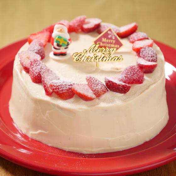 米粉のイチゴショートケーキ(プライベートレッスン)