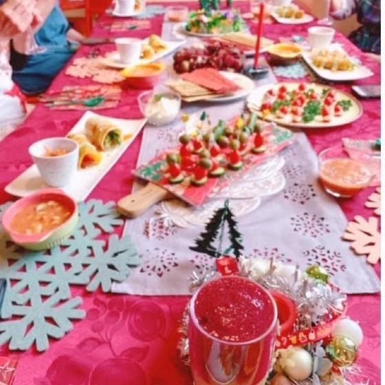 ヘルシーなクリスマスパーティーメニュー