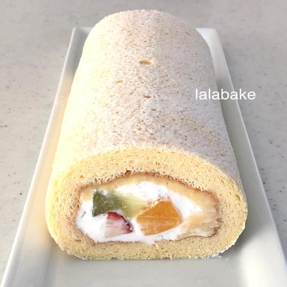 ♡トライフルロールケーキ ♡
