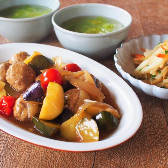 【オンライン】さっぱり美味しい夏野菜中華