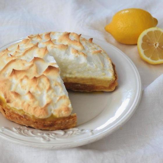 お菓子作りの基礎教室「レモンメレンゲパイ」
