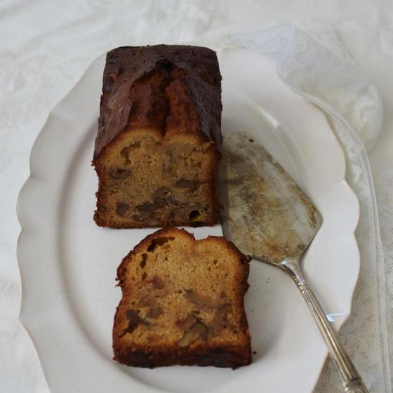 お菓子作りの基礎教室「くるみとバナナパウンドケーキ」