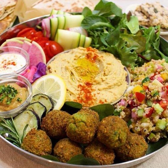 中東のヴィーガン料理