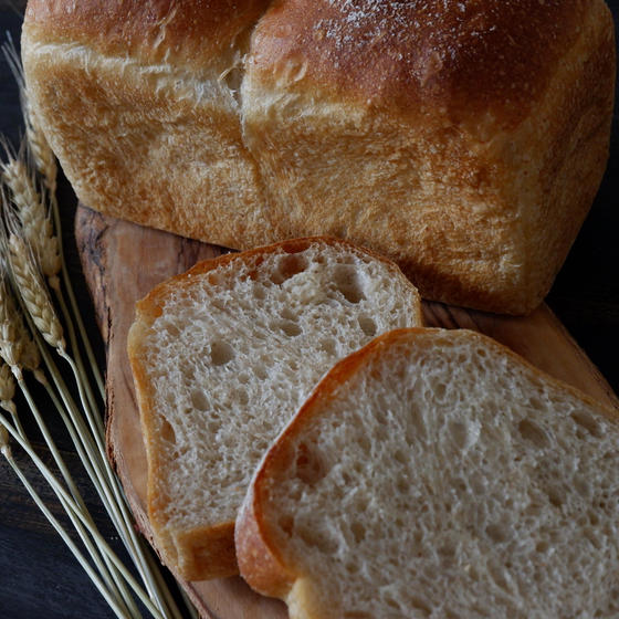 【食パン専門クラス】小麦ヌーヴォーを使った『高加水食パン』