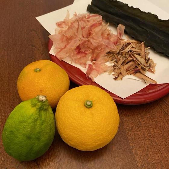 手作りポン酢・柚子味噌レッスン