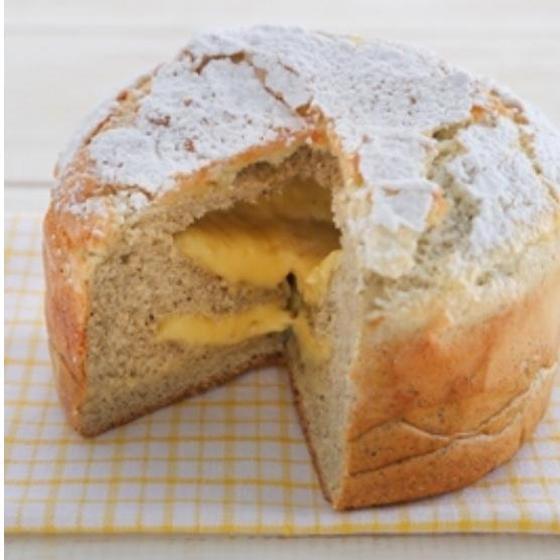 レモンティーカスタードパン