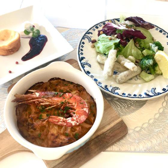 【1月限定シーメニュー】ビスク風えびグラタンで冬ディナー