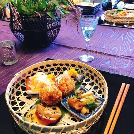 秋の和食でおもてなし