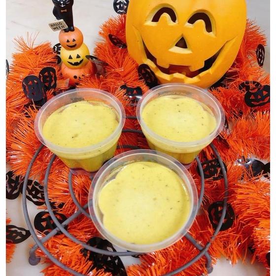 プリンはいつでも人気ですね「かぼちゃのプリン」