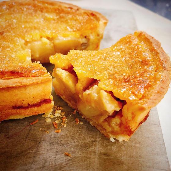 りんごのタルト「タルトTY」イルプルーのレシピで