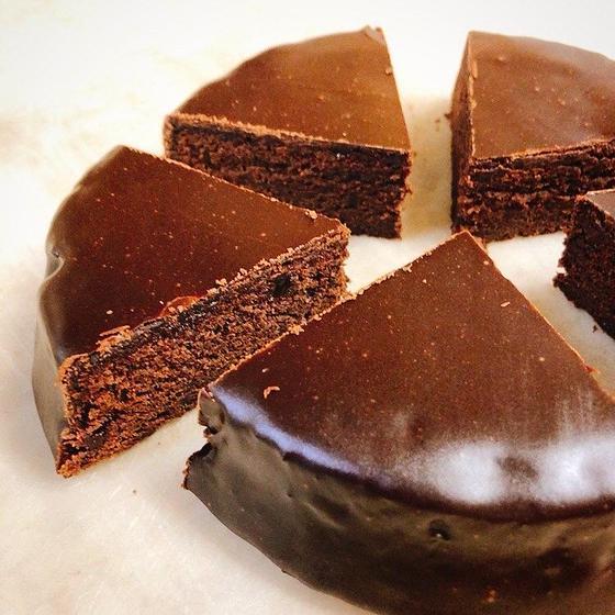 魅力的なチョコレートの「ザッハトルテ」ウィーンのお菓子