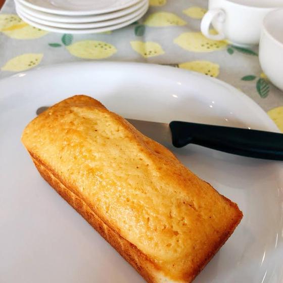 しっとり美味【はちみつレモンパウンドケーキ】