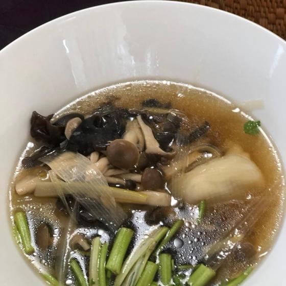 生徒さん撮影♪ 黒酢soup