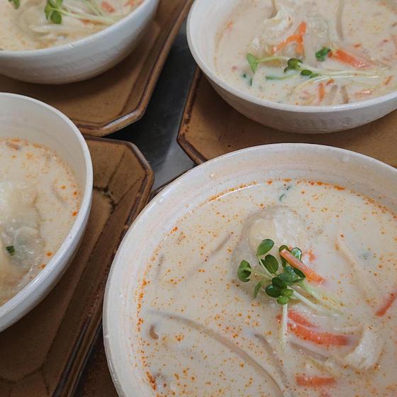 生徒さん撮影♪ 豆乳soup