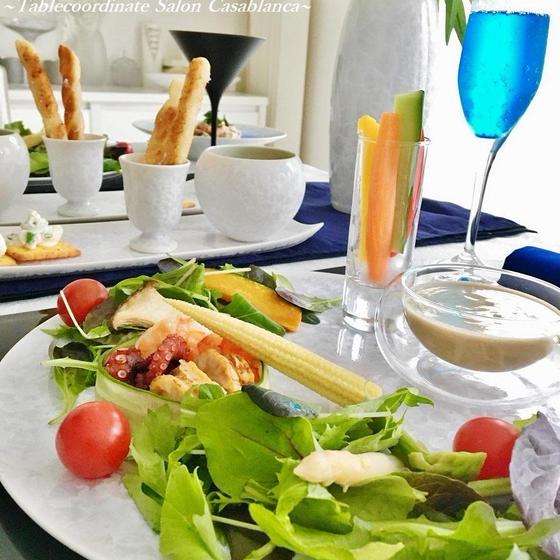 【七夕パーティー】おもてなし料理&テーブルコーディネート