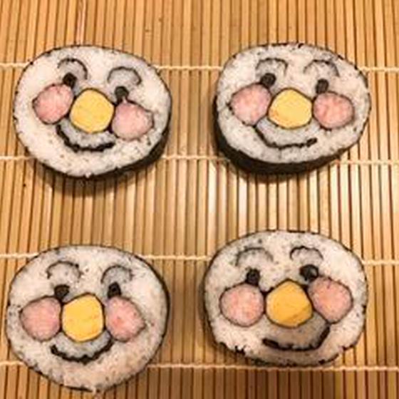 食べても美味しい可愛いお寿司