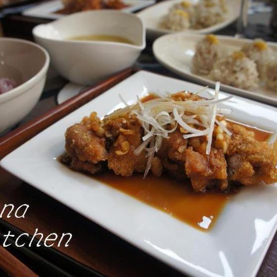 油淋鶏&もち米シューマイがメインの中華レッスン