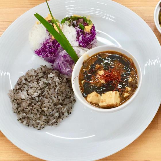 Neoベジタリアン料理 中華料理『四川風ベジ麻婆豆腐』
