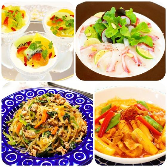 【大人1DAY】韓国&アジアン料理 黒毛和牛のチェプチェ等