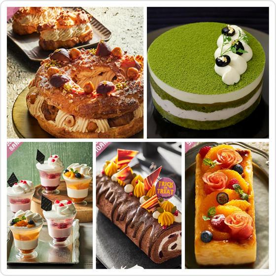 10,11月のケーキレッスンは5種類!