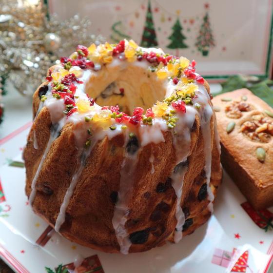 クリスマス発酵菓子クグロフ&スパイス香るパンデビス