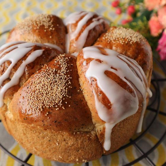 オレンジティークーヘン(菓子パン・基礎)