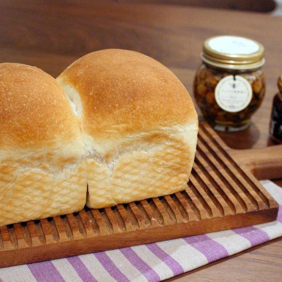 手捏ねパンレッスン 湯種食パンとわんぱくサンド