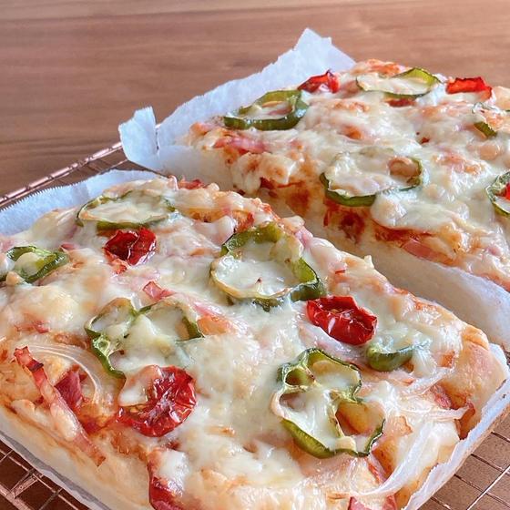 《天然酵母》手捏ねパンレッスン ピザパン