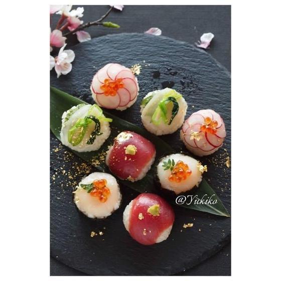 【お花見❀ 】手毬寿司アフタヌーンティー風おもてなしレッスン