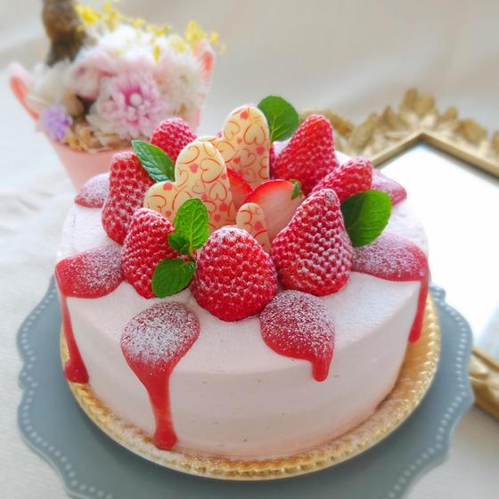 【体験レッスン】苺づくしのショートケーキ♡