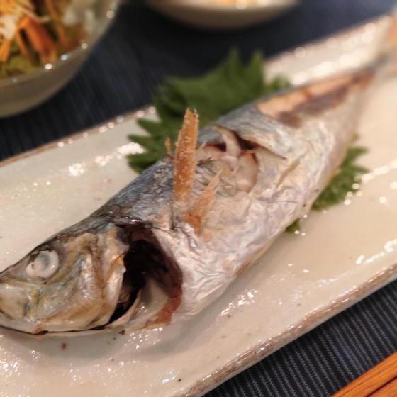 焼き魚の基本「下処理から体験!アジ姿焼き」