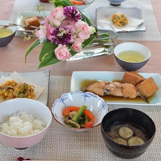 白身魚の煮付け 一汁三菜レッスン