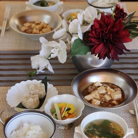 広東風麻婆豆腐 一汁三菜レッスン