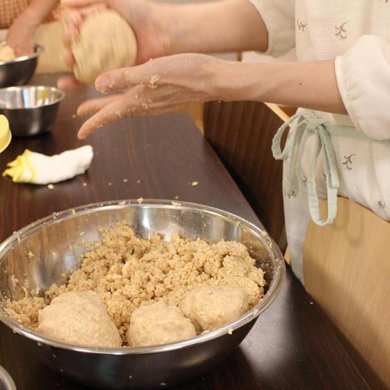 """~玄米麹or麦麹で味噌造り~ & """"みそまる""""作り"""