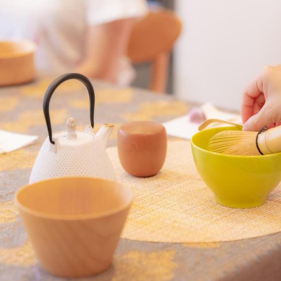 おもてなしテーブル抹茶(簡略点前テーブル茶道)