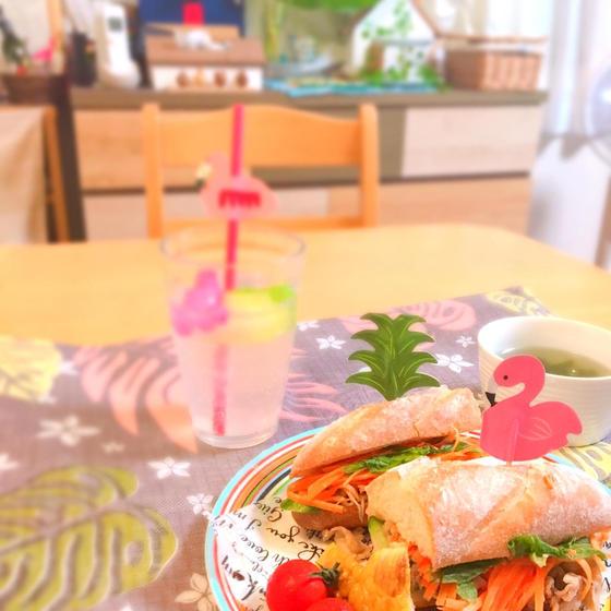夏休みスペシャルレッスン!! バインミーを食べよう!