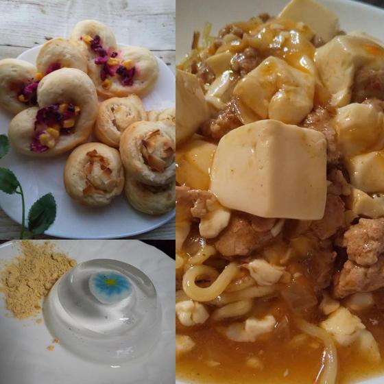 秋のお料理レッスン(パン2種類、メイン料理、スイーツ)