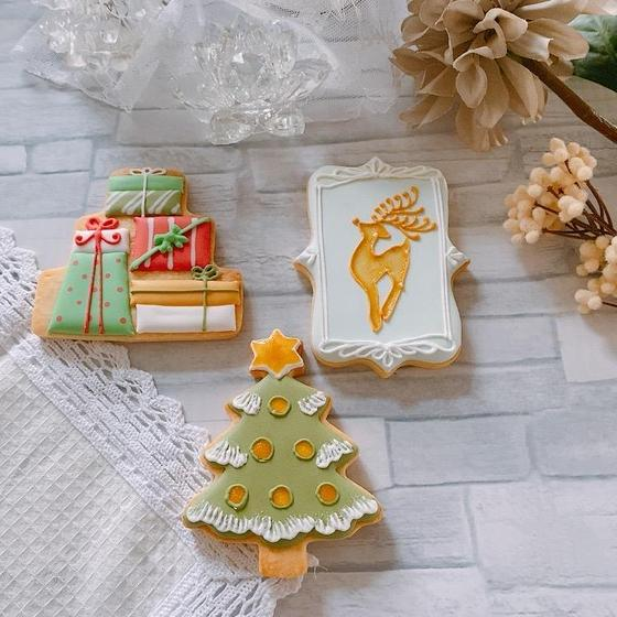 きらきら☆クリスマスアイシングクッキーレッスン