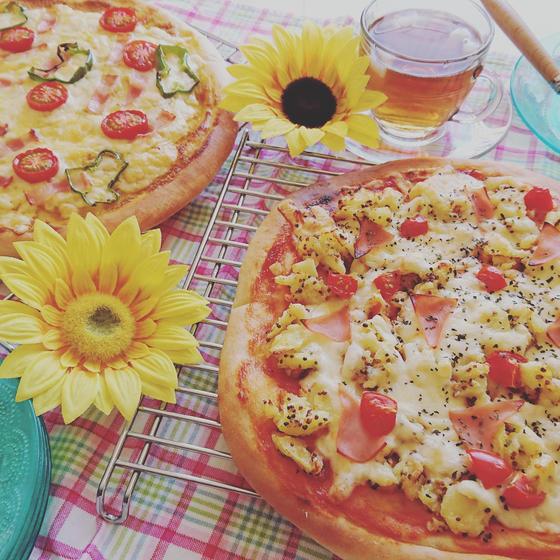 まん丸ピザを作ろうの会🎵