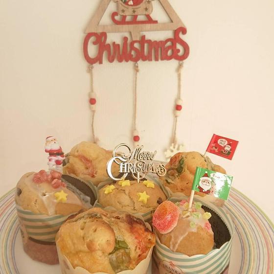 今年はクリスマスマフィンで決まり🎄❤️