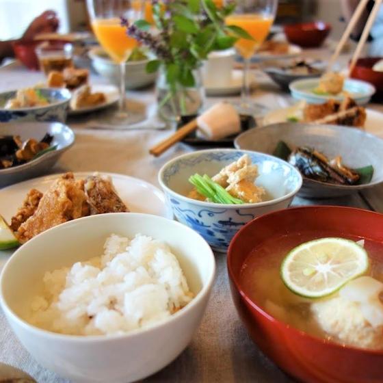 有機無農薬の秋野菜で和食を作りましょう