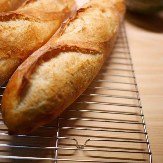 基本のフランスパンレッスン:ミニ・バゲット
