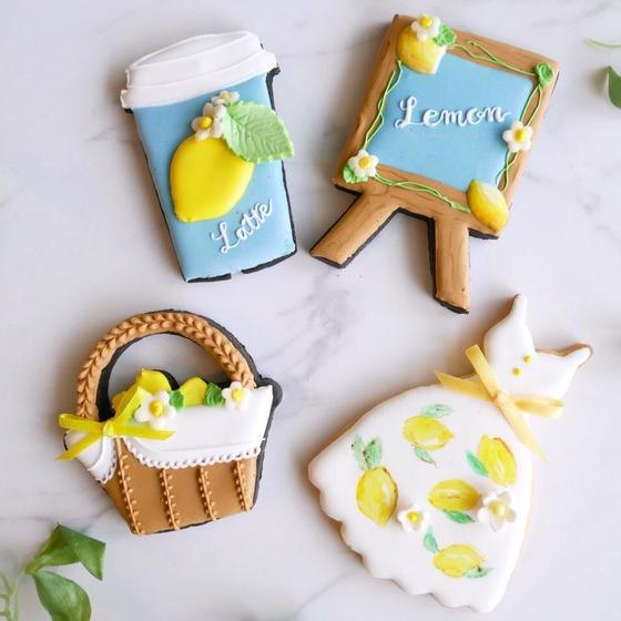 【8月9月限定】レモンワンピースでおでかけ♪クッキー