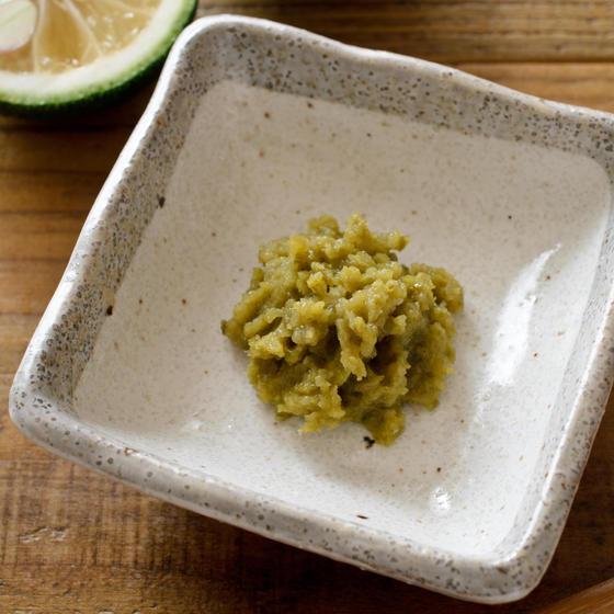 自家製発酵柚子胡椒