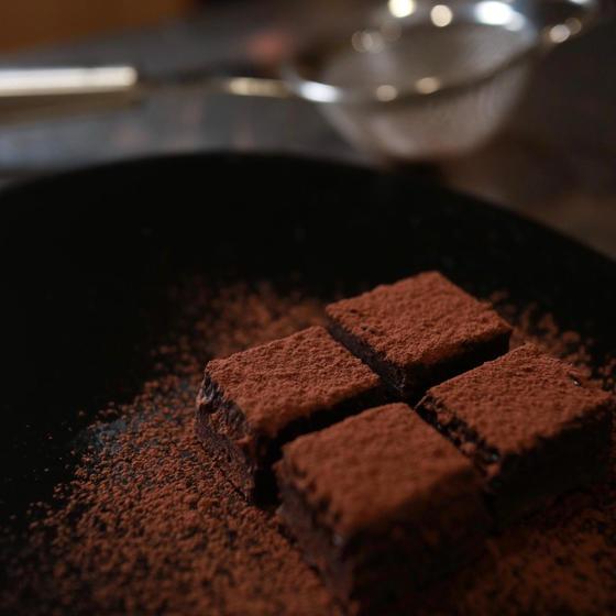 甘酒の石畳ショコラと甘酒ココア