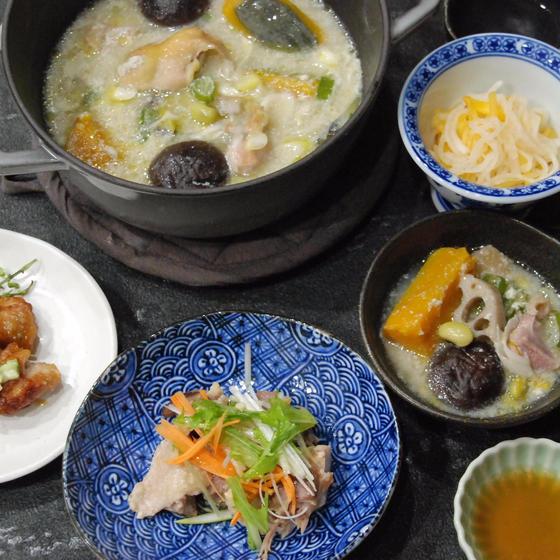 冷えに備える!比内地鶏と根菜の滋養鍋