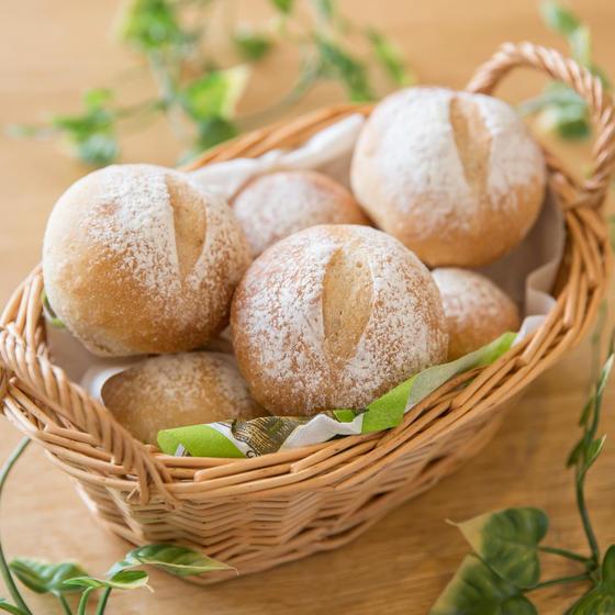 低温長時間発酵でつくる 『基本のプチパン』